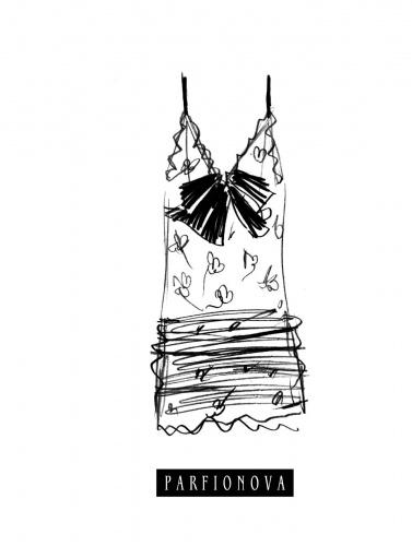 Предлагаем вашему вниманию оригинальный блокнот для записей Мода. Платье . Этот блокнот со стильной минималистичной обложкой и нелинованными страницами идеально подойдет для записи Ваших идей, стихов, набросков. Две разноцветных закладки-ляссе позволят быстро найти и открыть нужную страницу.