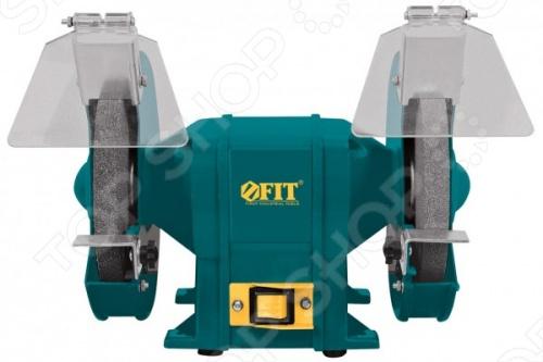 Точильный станок FIT BG-200 370 с двумя абразивными кругами. Создан для заточки инструментов. Частота вращения на холостом ходу достигает 2950 оборотов в минуту. Выключатель защищен от пыли. Мощность аппарата 370 Ватт. В комплекте два защитных щитка и две опорные пластины.