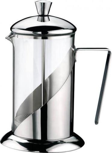 Френч-пресс G.A.T. PRATIKAФренч-прессы<br>Френч-пресс G.A.T. PRATIKA - предназначен для приготовления кофе или чая способом настаивания и отжима. Процесс получения необычного напитка займет не более 5 минут. В заварник засыпается чай или кофе крупного помола и заливается горячей водой, а затем настаивается около 4 минут. Отличное приспособление для придания аромата и получения насыщенного вкуса вашего напитка.<br>
