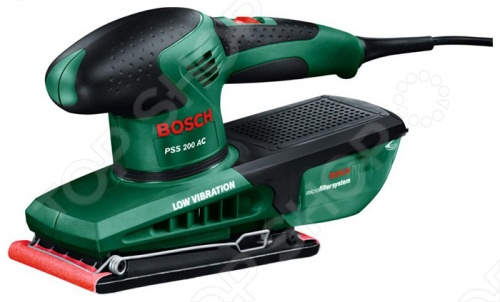 Машина шлифовальная вибрационная Bosch PSS 200 AC