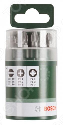 Набор бит Bosch 2609255975 бит органайзер xselector standard смешанная комплектация 11 предметов wiha 26985