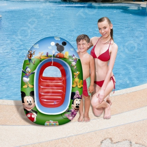 Лодка надувная детская Bestway «Микки Маус» 91003 надувная лодка bestway красная