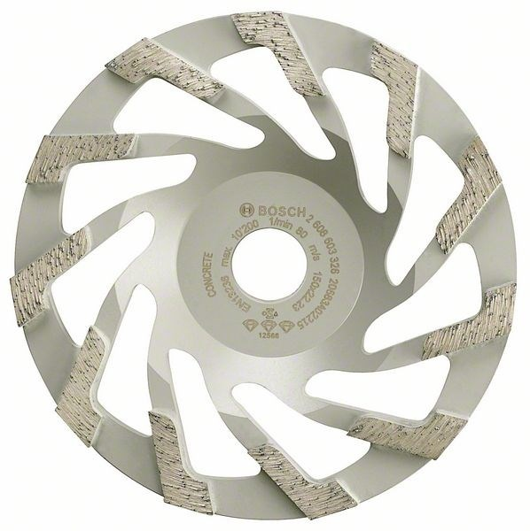 Круг чашечный алмазный Bosch Best for Concrete