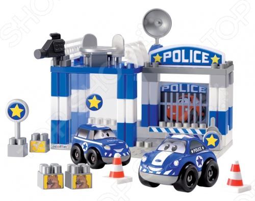 Конструктор Ecoiffier «Полицейский участок»