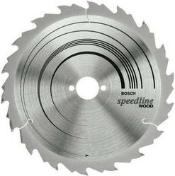 Диск отрезной для ручных циркулярных пил Bosch Speedline Wood 2608640785 диск отрезной для торцовочных пил bosch optiline wood 2608640432