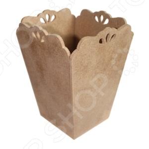 Заготовка из МДФ Ars Hobby Кашпо-ваза с капельками