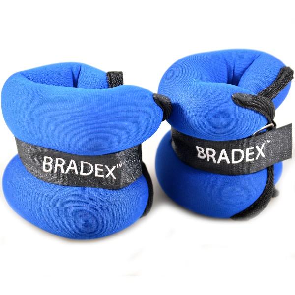 Утяжелители для ног и рук Bradex «Геракл плюс»Утяжелители<br>Утяжелители для ног и рук Bradex Геракл плюс предназначены для дополнительной нагрузки на мышцы при выполнении силовых упражнений, для спортивной ходьбы и бега. Они прочно крепятся на запястьях и лодыжках, не сковывая движений во время тренировки. Вес одного утяжелителя равен 1 кг.<br>