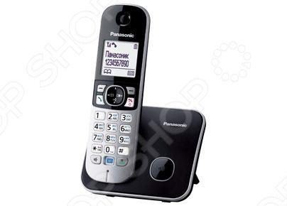 Радиотелефон Panasonic KX-TG6811 радиотелефон panasonic kx tg8551 белый kx tg8551ruw