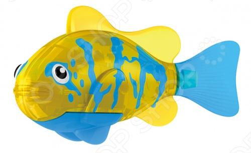 Роборыбка тропическая Zuru RoboFish «Белогрудый хирург» Роборыбка тропическая Zuru «Белогрудый хирург» /