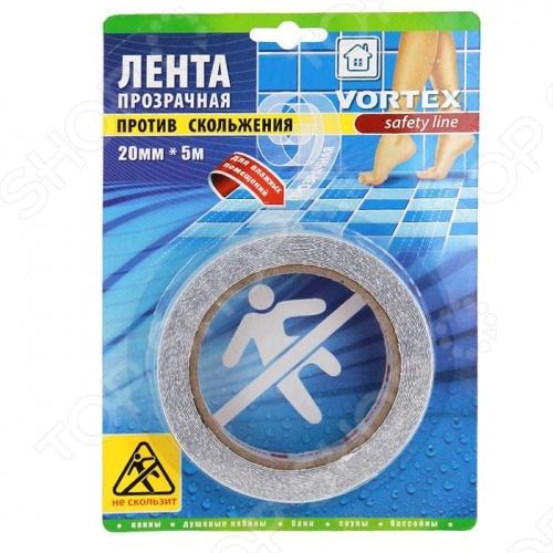 Противоскользящая лента Vortex 22513 лента stayer profi клейкая противоскользящая 50мм х 5м 12270 50 05