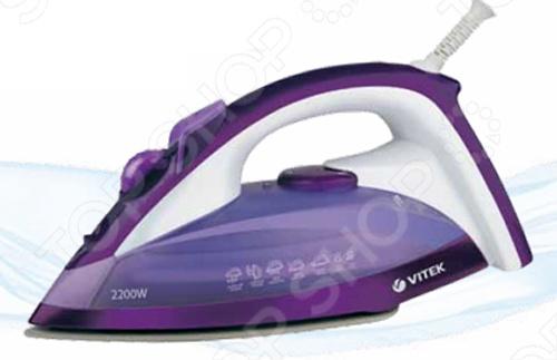 Утюг с мешком для стирки Vitek VT-1219 утюг vitek vt 1245p мешок для стирки