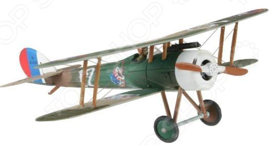 Сборная модель биплана Revell Nieuport N.28 C-1Авиамодели<br>Сборная модель Nieuport N.28 C-1представляет собой точную копию настоящего военного самолета. Состоит из 27 деталей, которые юный механик должен собрать сам. Во время игры с такой крылатой машиной у ребенка развивается мелкая моторика рук, фантазия и воображение. Биплан-истребитель времен Первой мировой войны выпущен известной компанией по производству игрушек Revell. Изготовлен из пластика и обладает потрясающей детализацией. Сборная модель Nieuport N.28 C-1 является отличным подарком не только ребенку, но и коллекционеру. Клей, кисточка и краски в комплект не входят.<br>