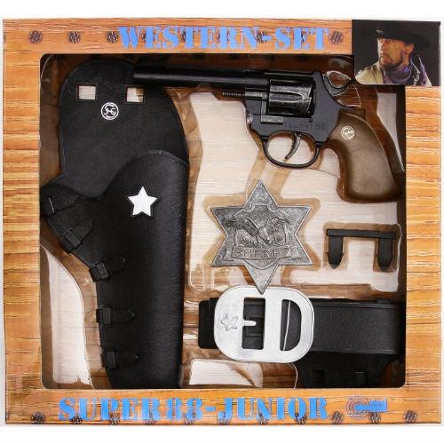 Игровой набор Schrodel «Дикий Запад» игровой набор gonher ковбойский набор револьвер пластмассовый на 8 пистонов звезда шерифа 204 0