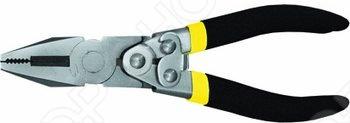 Пассатижи FIT Рычажный типКусачки. Пассатижи. Плоскогубцы. Длинногубцы<br>Пассатижи рычажного типа FIT оснащены механизмом саморазжатия и защелкой для фиксации ручек. Рычажный механизм увеличивает усилие для более качественной и удобной работы. Инструмент обладает прочной конструкцией. Рабочая часть создана из хромованадиевой стали, что обеспечивает высокую прочность и долговечность. Удобные рукоятки имеют нескользящие накладки из ПВХ, для надежного захвата инструмента.<br>