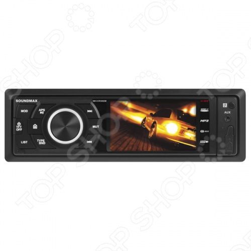 Автомагнитола Soundmax SM-CCR3082M автомагнитола cd mp3 soundmax sm cdm1065