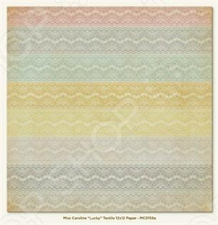 фото Бумага для скрапбукинга двусторонняя Morn Sun Textile, купить, цена
