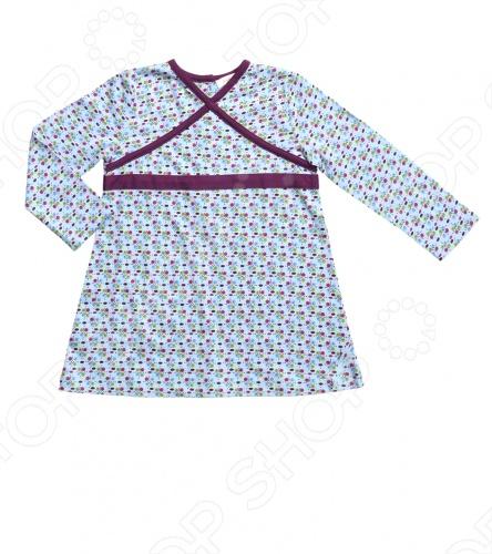 Angel Dear, создает классическую одежду для новорожденных и детей младшего возраста от 0 до 4 лет . При создании учитываются самые современные тенденции в мире моды, и особое внимание уделяется деталям. Каждая коллекция имеет свой неповторимый стиль, который дополняется различными милыми аксессуарами, чтобы сохранить ощущения столь сладостного периода детства. Комфорт ребенка - основополагающий принцип в создании коллекций каждого сезона. Линии одежды Angel Dear вы можете увидеть в лучших бутиках и магазинах по всей территории США. Платье детское Angel Dear Lola. Стильное платье свободного покроя с длинными рукавами,V-образным вырезом горловины и застежкой на пуговицах сзади. Состав: 100 хлопок.