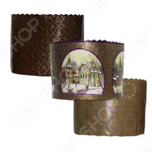 Набор бумажных форм для выпечки куличей Marmiton «Пасхальный» roca унитаз подвесной roca meridian 346247000