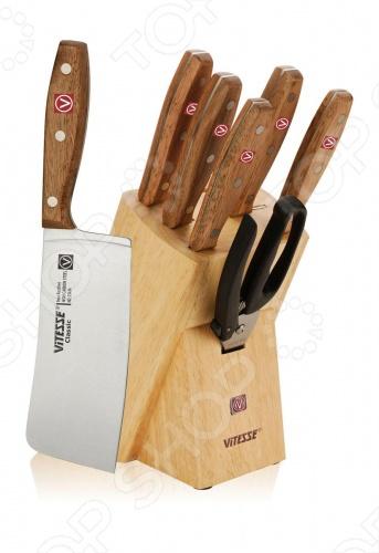 Набор ножей Vitesse Classiс VS-8109 ножи кухонные vitesse набор ножей для сыра