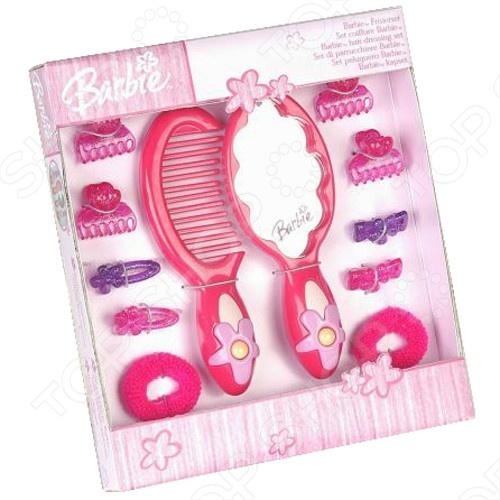 Набор с зеркалом из 12 предметов Klein Barbie barbie набор для декора дома холодильник с продуктами cfg65 cfg70