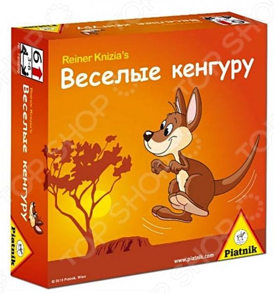 Игра настольная Piatnik «Веселые кенгуру» настольные игры piatnik activity для детей издание 2015г