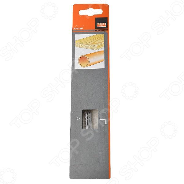 цена на Набор пилок для лобзика Bahco 303-5P
