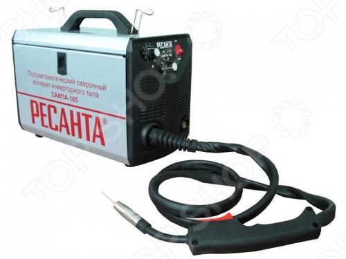 Аппарат сварочный инверторный полуавтоматический Ресанта САИПА-165 инверторный сварочный полуавтомат ресанта саипа 165
