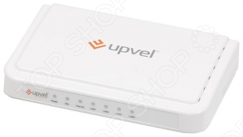 Модем ADSL внешний Upvel UR-104AN точка доступа adsl upvel ur 203awp 3xlan ip tv