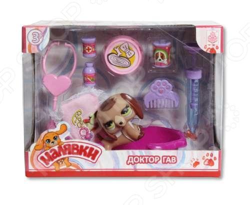 Питомец с набором доктора 1 Toy «Малявки». В ассортименте Питомец с набором доктора 1 Toy «Малявки» /