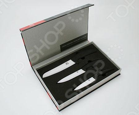 Набор керамических ножей Mayer&Boch MB-20126 в подарочной коробке сковорода d 24 см mayer and boch mb 22477