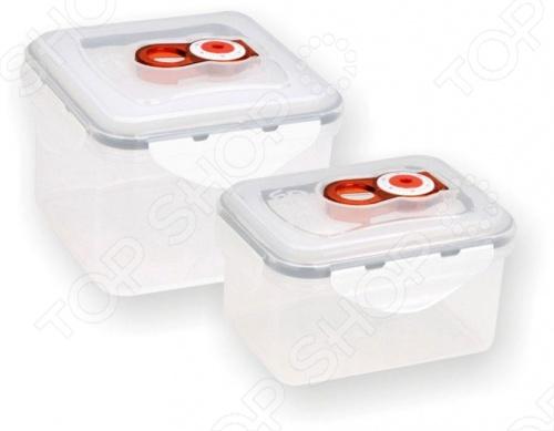 С помощью набора вакуумных контейнеров для продуктов Vitesse Classiс VS-8705 можно хранить продукты длительное время. Есть возможность использования как в морозильной камере, так и в микроволновой печи. Обладает календарной шкалой начала хранения продукта и индикатором даты для определения срока годности. Можно мыть в посудомоечной машине.
