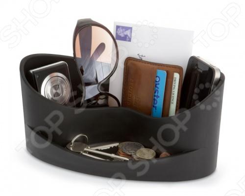 Органайзер для мелочей J-me Casa незаменим в домашнем хозяйстве и станет отличным дополнением к набору ваших бытовых принадлежностей. Изделие универсально и практично в использовании, пригодится для хранения различных мелочей, бумажников, МР3-плееров, очков, ключей, визитниц и т.д. Модель снабжена двумя вместительными отделениями. Изделие выполнено из высококачественного плотного каучука с антистатическими свойствами, компактно и практично в использовании.