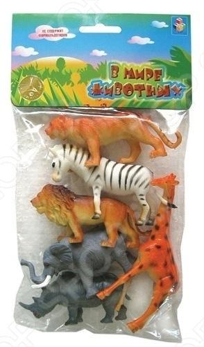 Набор игрушечных животных 1 TOY Т50464