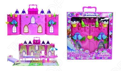 фото Замок для кукол с мебелью 1 Toy «Колокольчик», Игровые наборы для девочек