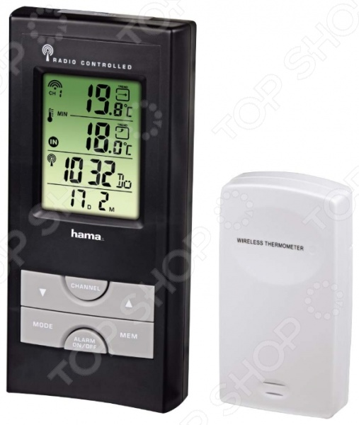 Метеостанция Hama EWS-165 метеостанция цифровая hama ews 800 h 76045