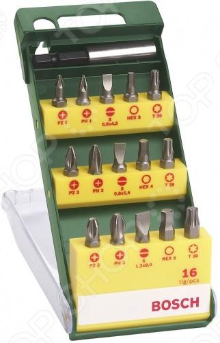 Набор бит Bosch 2607019453 набор бит hammer pb набор no1 7шт ph pz sl