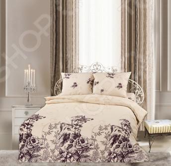 Комплект постельного белья Романтика Луара. Семейный выполнен в изысканном и неповторимом стиле. Бежевый цвет придает белью нежность и нотку чувствительности. Особую изюминку вносит стилизованный орнамент, который выполненный в контрастных и сближенных тонах. Изображение цветов добавляет воздушности. Такое постельное белье позволит не только прекрасно отдохнуть,но и станет прекрасным подарком для вас и ваших близких. Ощущение комфорта и безопасности - вот главная отличительная черта данного комплекта. Комплект постельного белья создан из высококачественной тверской бязи 100 хлопок . К особенностям данного комплекта можно отнести - использование экологически чистых красителей, простыни без швов, при стирке ткань не теряет формы и цвета, материал не вызывает аллергии. Упаковка - прочный пакет ПВХ с бумажным вкладышем и фотовставкой.