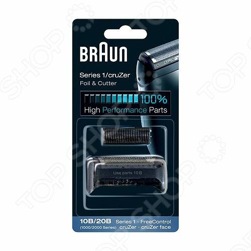 Сетка и блок 1000FreeControl Сетка и режущий блок Braun 1000 FreeControl