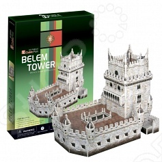 Пазл 3D CubicFun «Башня Белен» пазлы cubicfun пазл башня белен