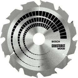 Диск отрезной для ручных циркулярных пил Bosch Construct Wood 2608640635 диск отрезной для торцовочных пил bosch optiline wood 2608640432