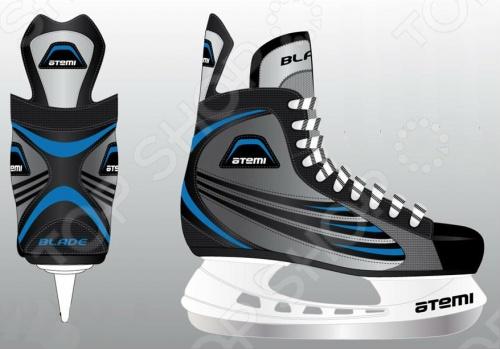 Коньки хоккейные Atemi BLADE BLUE