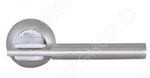 Ручка дверная Palladium Рио имеет очень красивый дизайн и удобна в использовании. Материал: алюминий, износостойкое покрытие, лак. Комплектация: крепеж, стяжки, квадрат 8х105мм. Упаковка: картонная коробка.