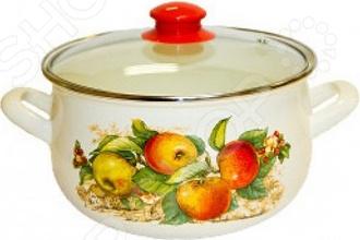 цена на Кастрюля со стеклянной крышкой Interos «Яблоки»