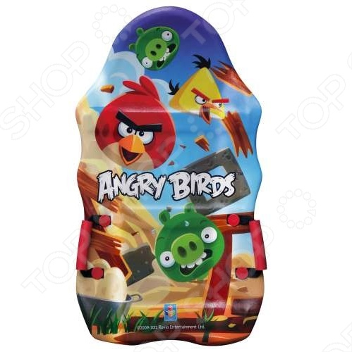 Ледянка 1 Toy Т56333 ледянка выпуклая с плотными ручками 94см angry birds 1toy
