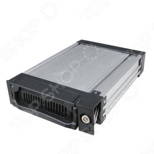 Внешний корпус для HDD AgeStar SR1A(K)-3F салазки для жесткого диска mobile rack для hdd 3 5 agestar amr1 sata k 3f 3fan серебристый sr1a k 3f