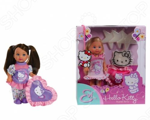 Кукла Еви Kitty-пижамная вечеринка Simba Hello Kitty