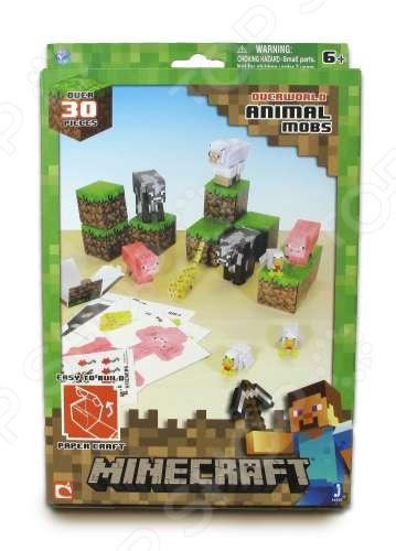 Конструктор из бумаги Minecraft «Дружелюбные мобы» цена