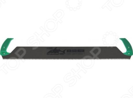 Пила двуручная РОС Дельта (крупный зуб)Лобзики. Ножовки. Пилы<br>Пила Дельта двуручная,крупный зуб имеет шаг 10 мм и очень практична в использовании. Имеет большую длину - 1 метр, и применяется для распиловки крупных деревянных заготовок. Пила с двух сторон оснащена эргономичными пластиковыми рукоятками для удобства проведения работ. Рабочее полотно изготовлено из прочного и качественного материала - высокоуглеродистой закаленной стали, что способствует более продолжительному сроку службы инструмента.<br>