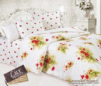 Комплект постельного белья Романтика Солнечный день комплект семейный романтика баттерфляй