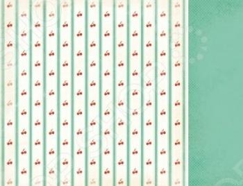 фото Бумага для скрапбукинга двусторонняя Kaisercraft Cherry Tart, купить, цена